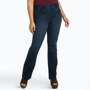 TORRID High Rise Slim Boot Jeans Dark Wash 16R